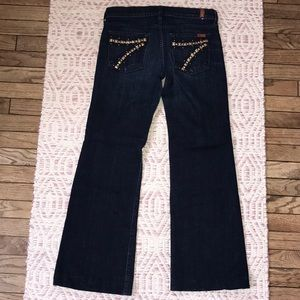 7 For All Mankind Petite Studded DOJO Jeans